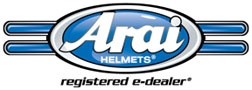 Arai Helmets Registered e-dealer