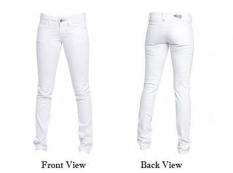 Images of Womens White Skinny Jeans - Reikian