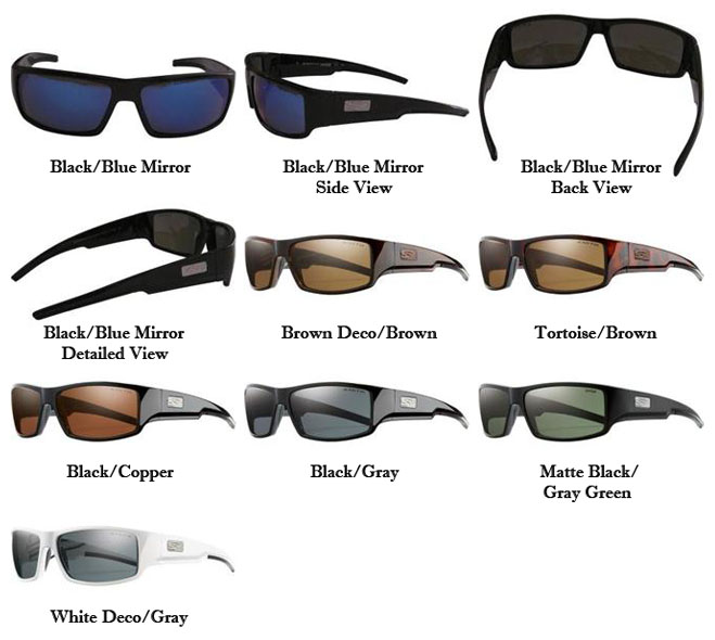 bcff8f5bb7 Smith Optics Lockwood Premium Lifestyle Polarized Sunglasses ...