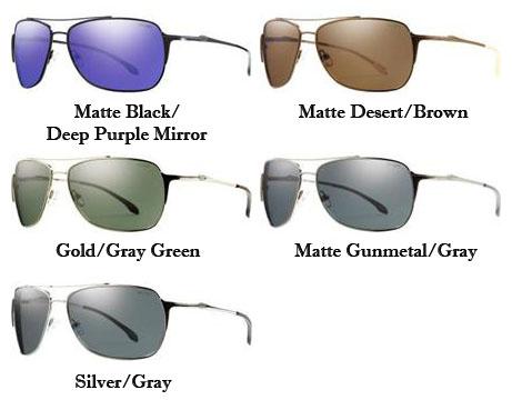 7101043e55 Smith Optics Rosewood Premium Lifestyle Polarized Sunglasses ...