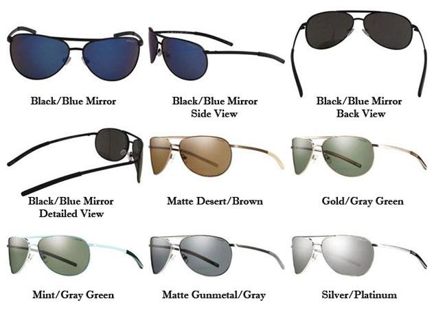 7767146641 Smith Serpico Slim Polarized Sunglasses « Heritage Malta