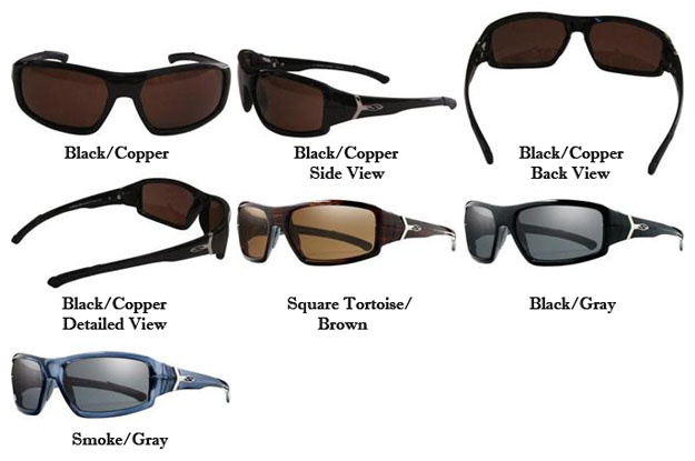 86bd35a66f Smith Optics Spoiler Premium Performance Interlock Polarized Sunglasses