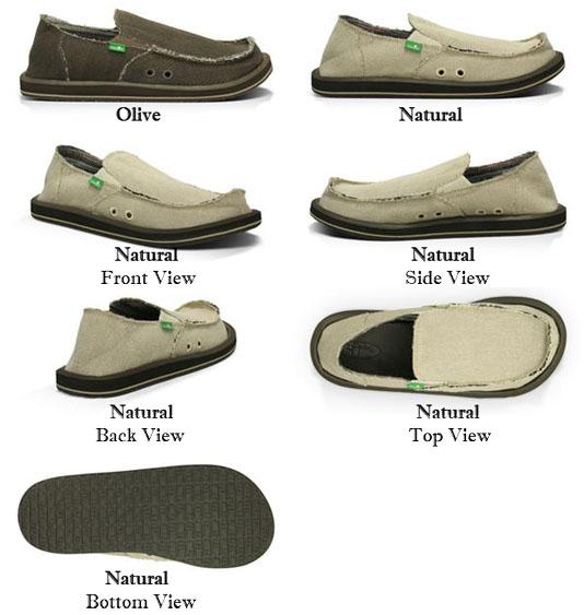 Sanuk Hemp Men's Shoes – Motorhelmets