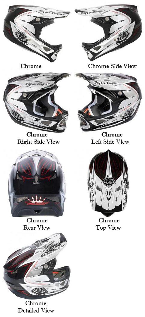 195feb87 Troy Lee Designs Palmer D3 Composite Helmets – Motorhelmets Library ...