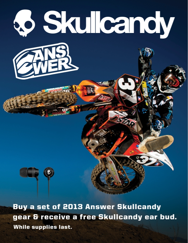 Answer Skull Candy Earbuds Sept 2012 Promotion