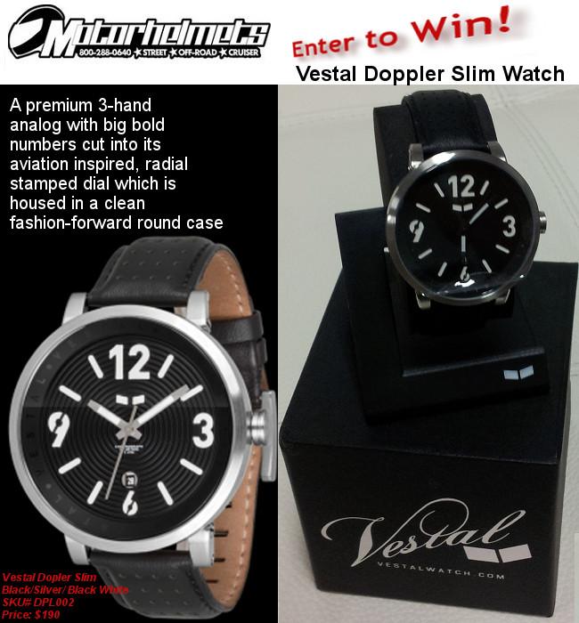 Vestal Doppler Slim Watch
