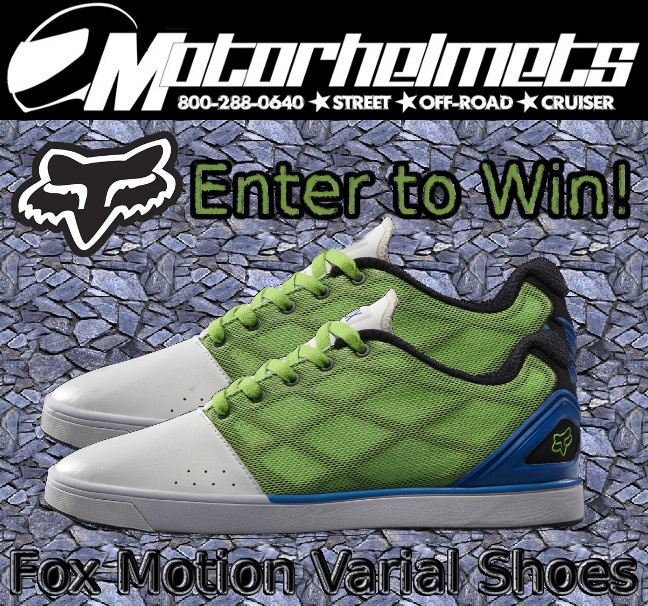 Fox Motion Varial Shoes Promo