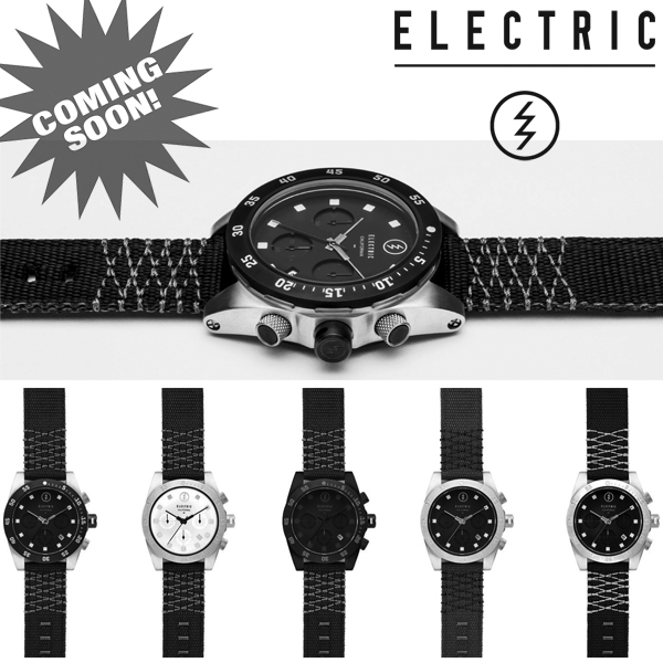 New Watch Collection from Electric Visual...coming soon at Motorhelmets!