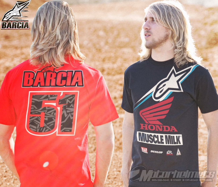 Introducing the 2013 Justin Barcia Tee Collection from Alpinestars!