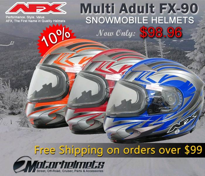 AFX Multi FX-90 Snowmobile Helmet