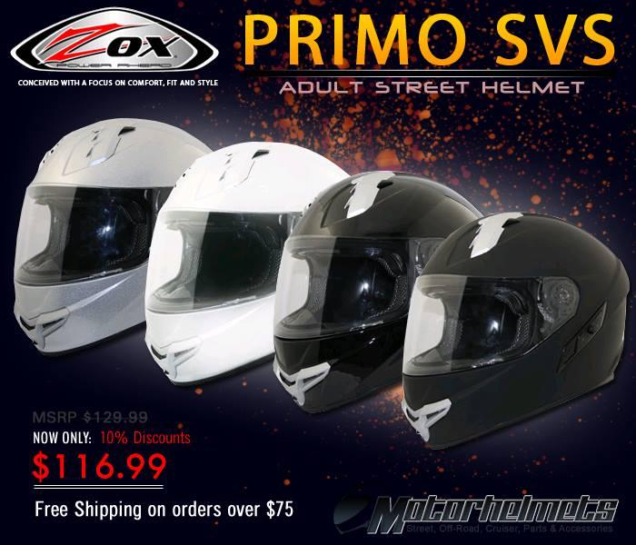 ZOX Primo Adult street helmet
