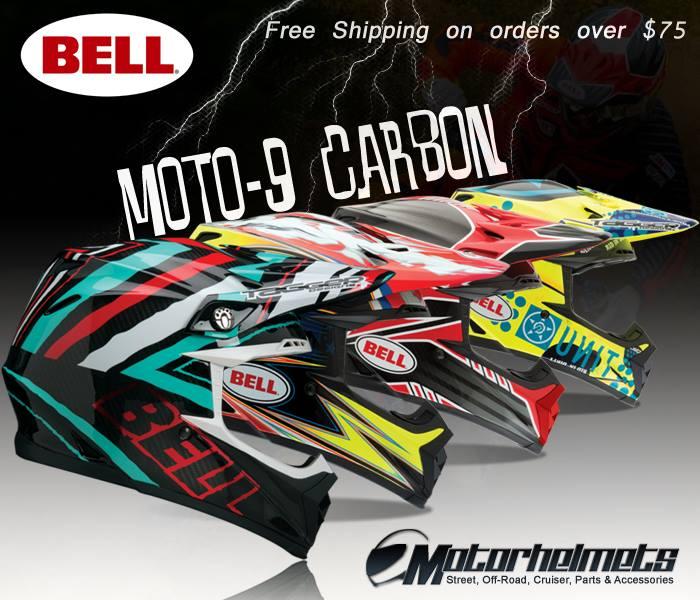 Bell Moto 9 Carbon Helmets