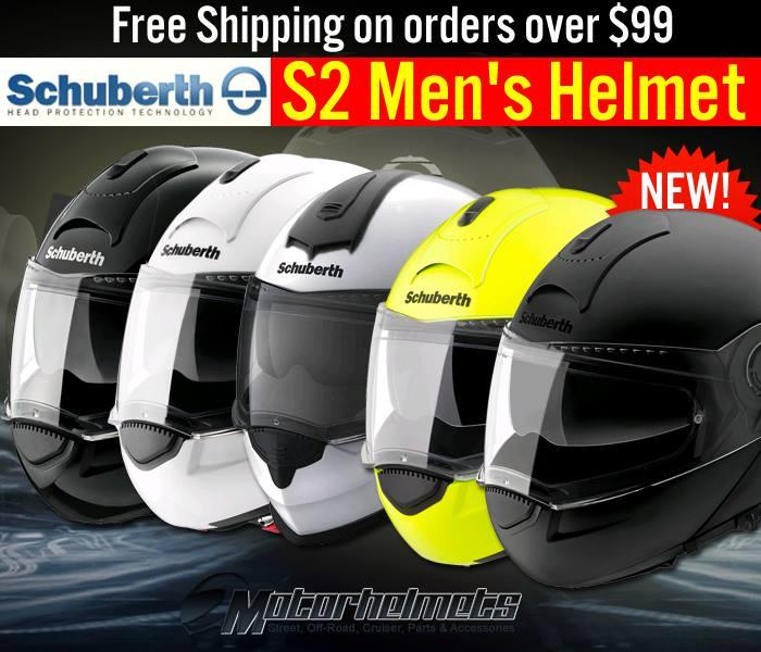 New Schuberth S2 Motorcycle Helmet