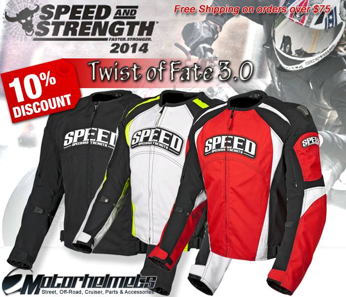 Speed and Strength Twist of Fate  Jacket