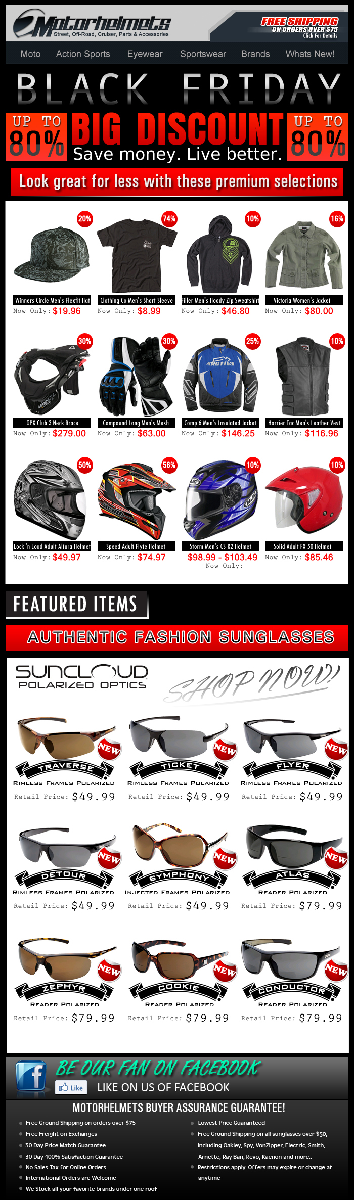 Early Black Friday Specials...up to 80% off on Premium Selections!