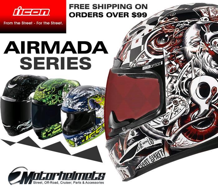 icon airmada helmet series
