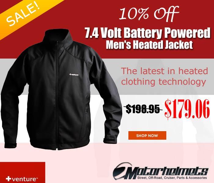 VentureHeat 7.4 Volt Battery Powered Men's Heated Winter Sport Jacket