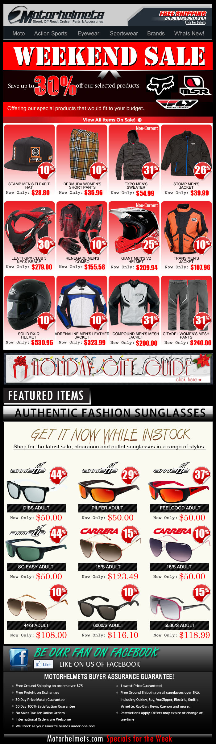 More Holiday Discounts from FOX, MSR and FLY Coming your Way!