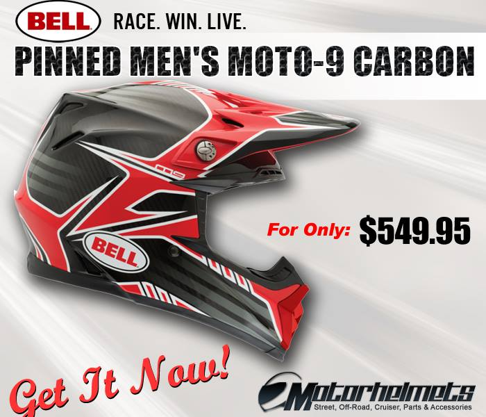 Bell Pinned Men's Moto-9 Carbon
