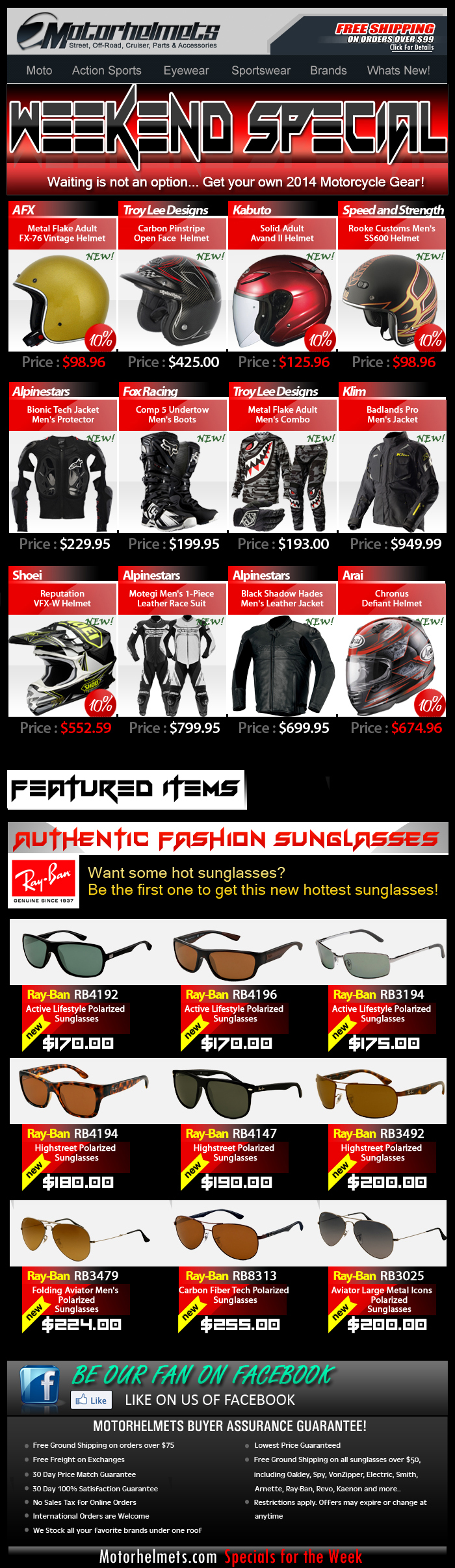 Now Available..2014 Gear and Apparel from Fox, Shoei, A-Stars and more!