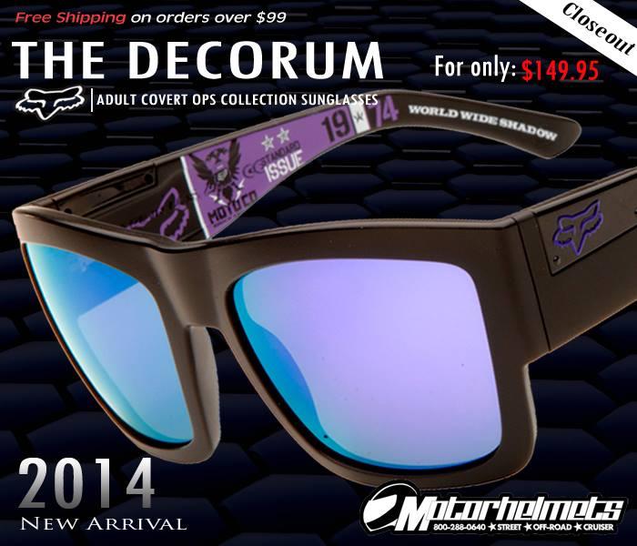 Fox Racing DEcorum Covert Ops Sunglasses
