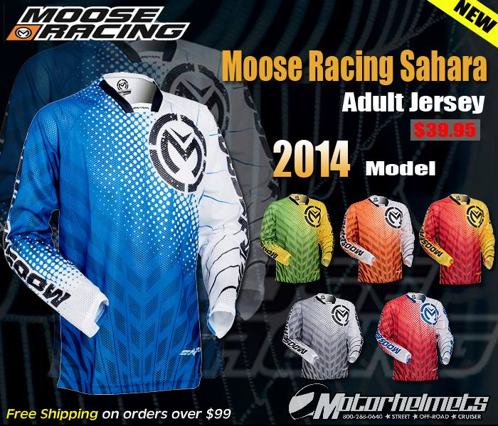 moose racing jersey