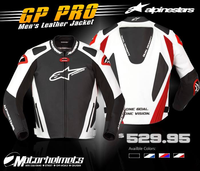 Alpinestars GP Pro Men's Leather Jacket