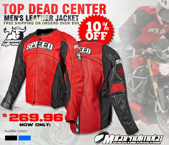 Speed and strength top dead center men's jacket