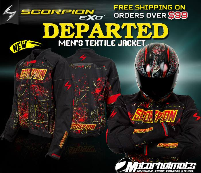 Scorpion DEparted Textile Jacket
