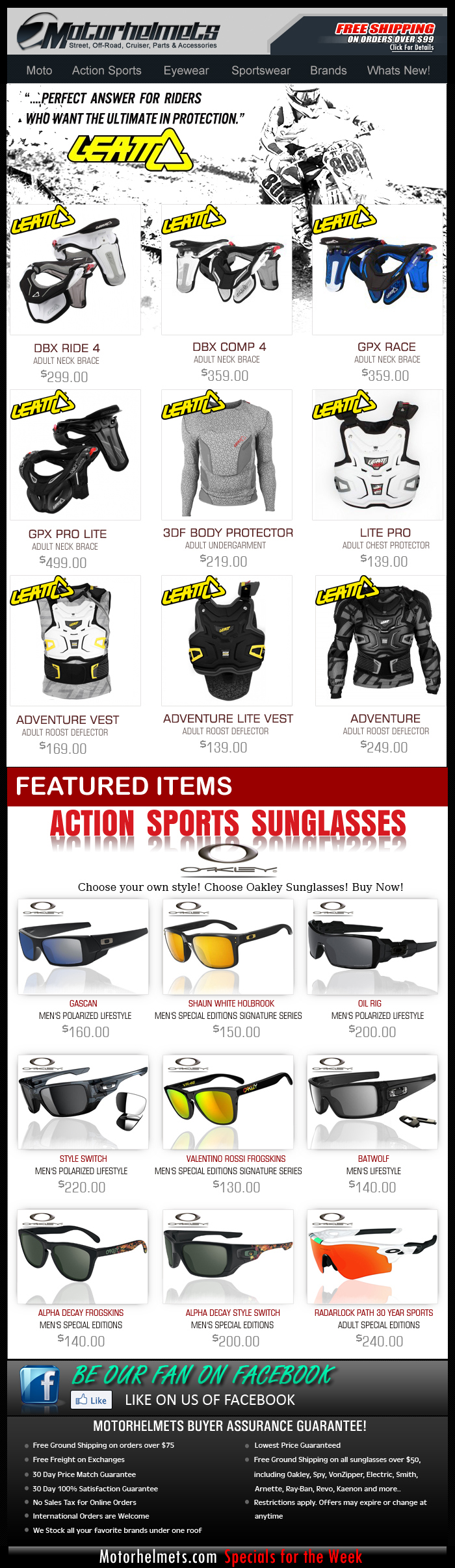 Ride safe, pick Leatt! See our entire collection...