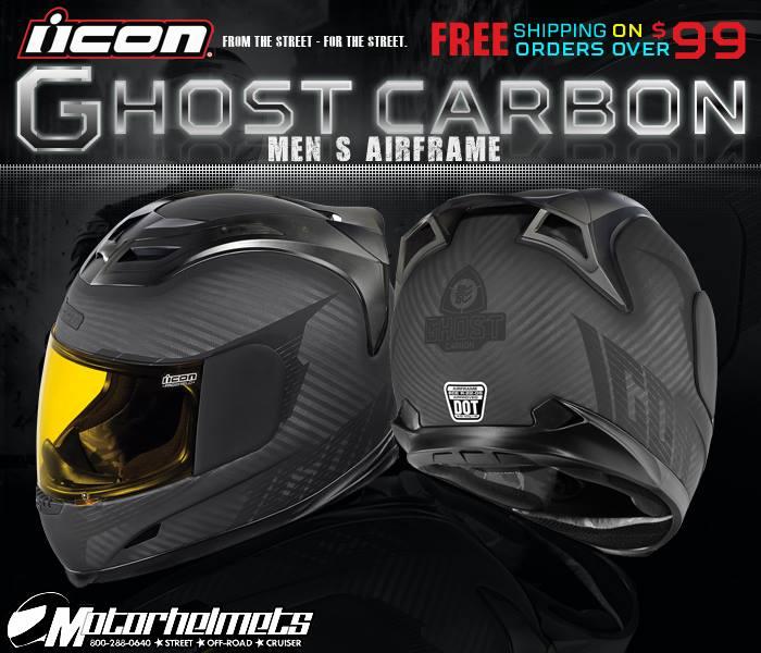 icon Ghost Carbon Helmet
