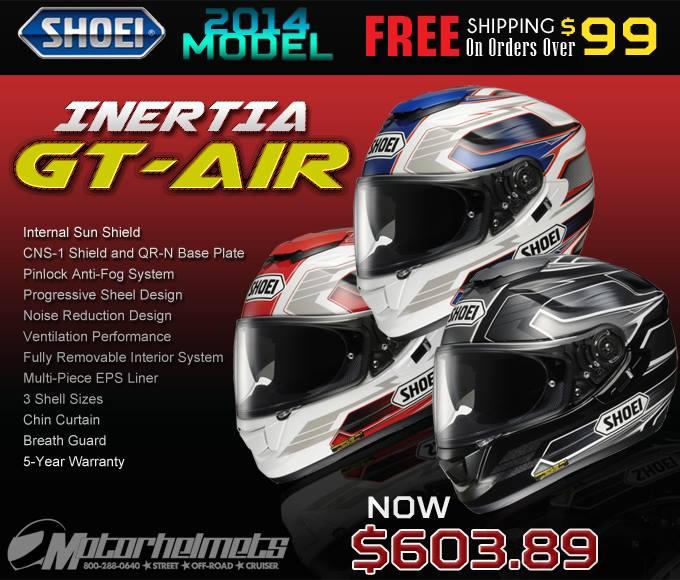 Shoei Inertia GT-Air Helmet