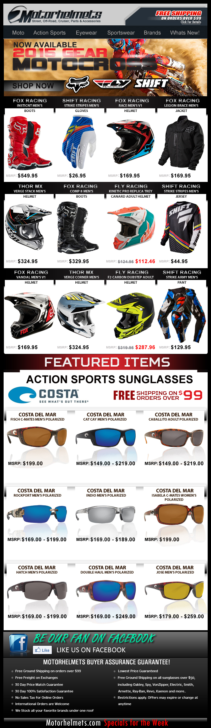 New MX Gear Arrivals from Fox, Shift, Fly Racing and more!