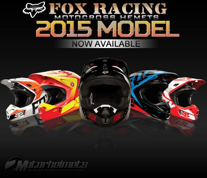 fox racing 2015 helmets