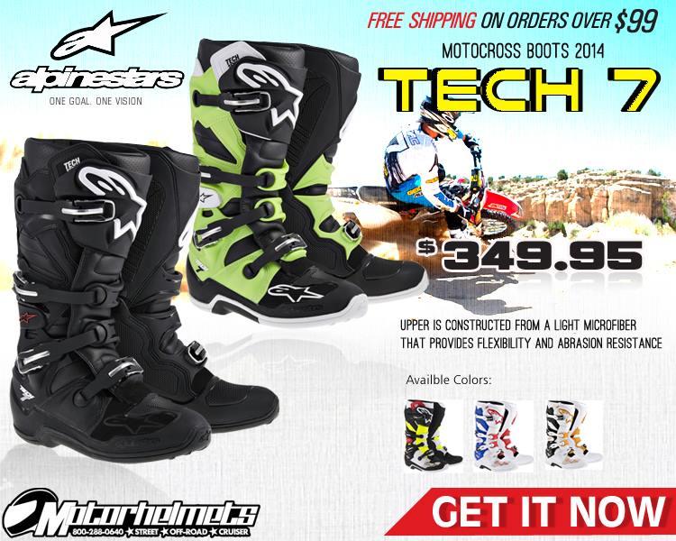 Alpinestars Tech 7 Men's Motocross Boots