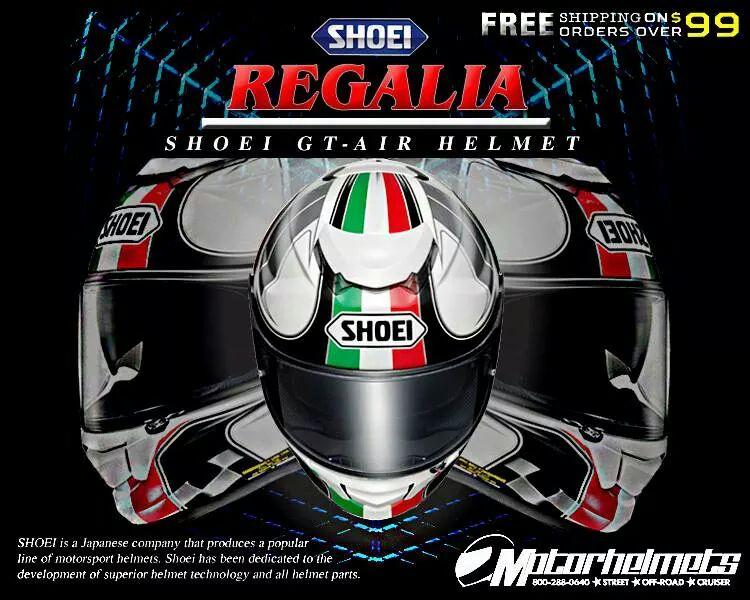 Product Ad Poster (Oct. 2014) : Shoei Regalia GT-Air Helmet