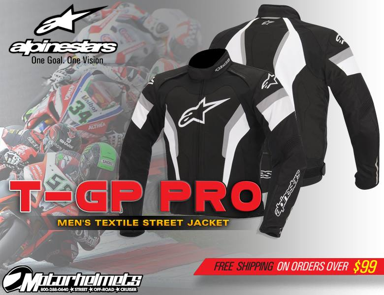 alpinestars t-GP Pro Men's Textile  Jacket