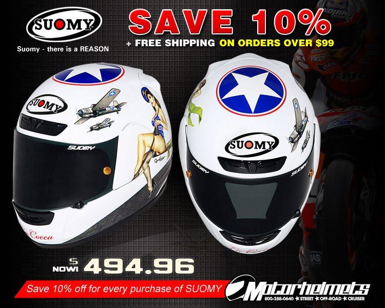 Suomy La Cocca Apex Sports Helmet