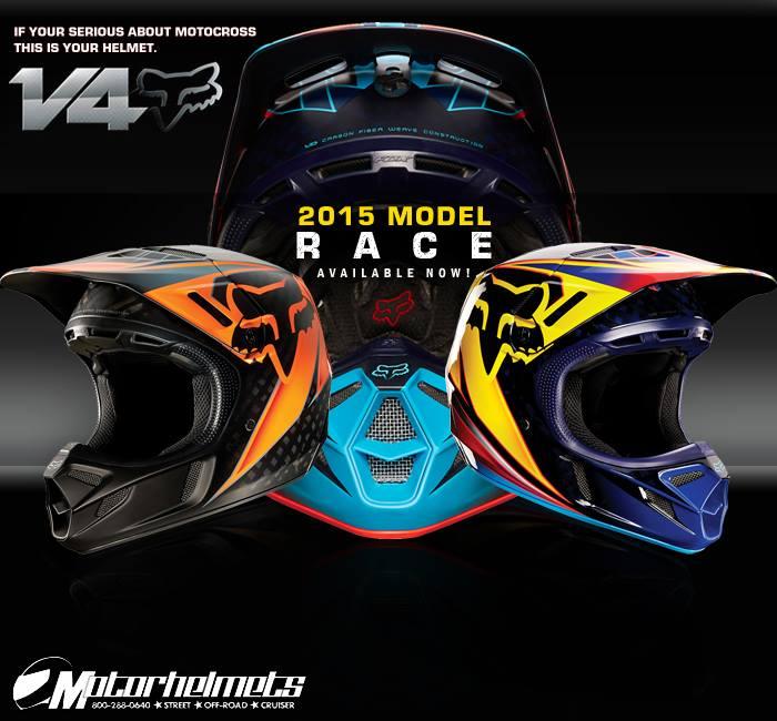 Fox Racing 2015  V4 Helmet