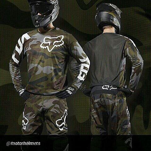 Fox Racing LE 180 Camo gear set