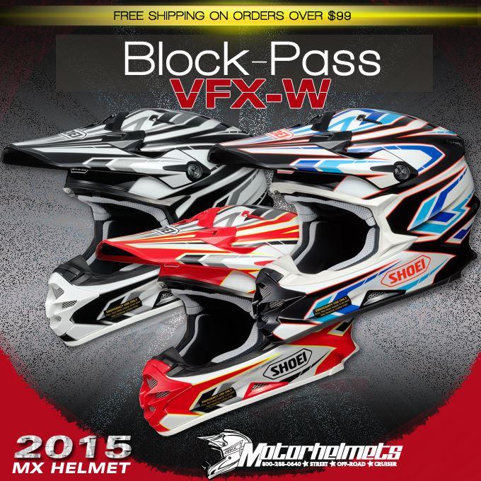 Shoei Block-Pass VFX-W Helmet