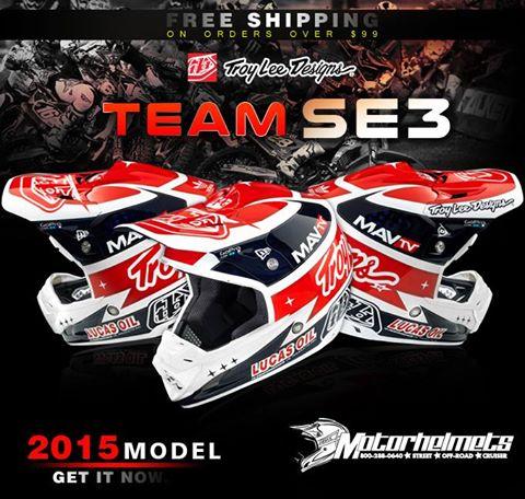 Troy Lee Designs Team SE3 Helmet