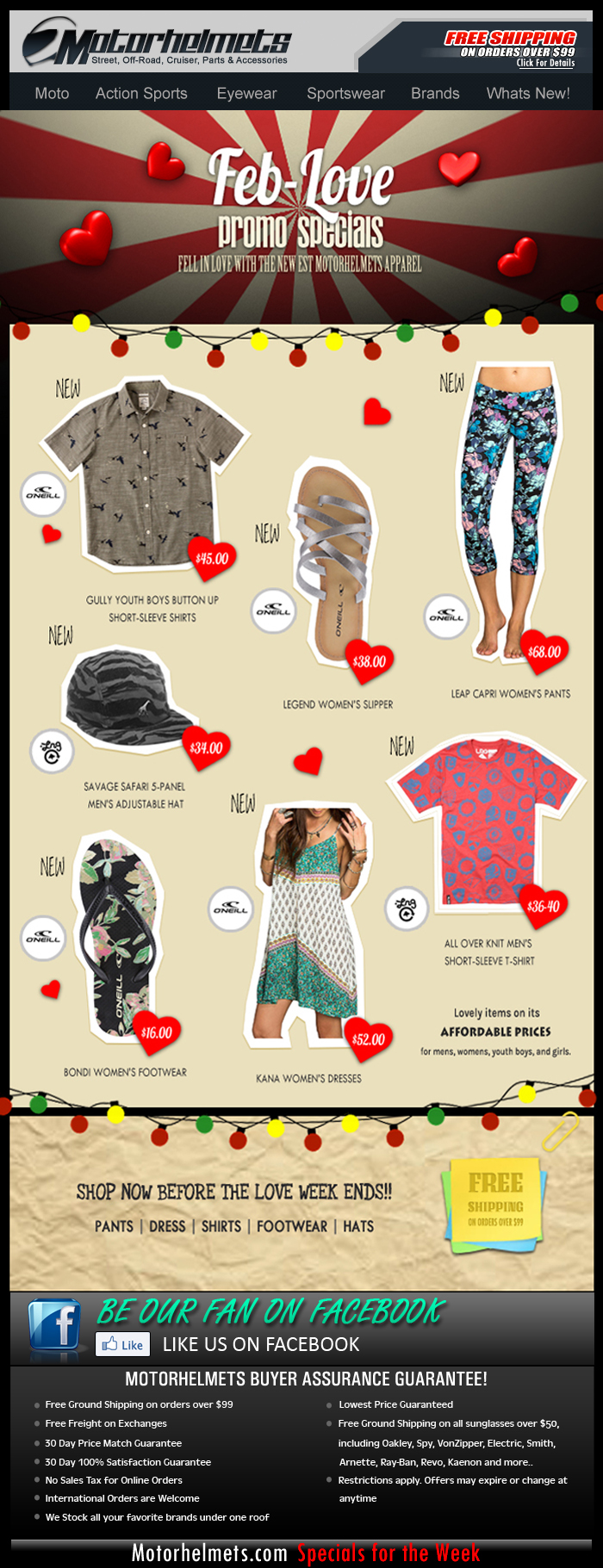 Love Month Gift Ideas from LRG and O'Neill!