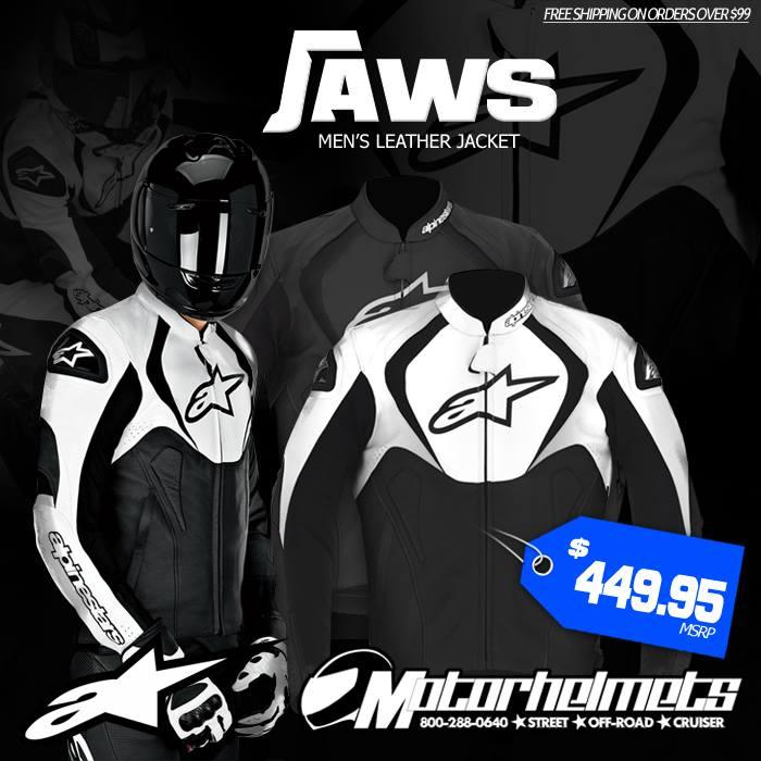 Alpinestars Jaws Men's Leather Jacket