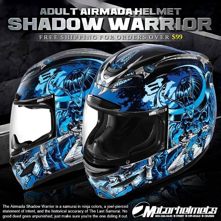 Icon Shadow Warrior Adult Airmada Helmet