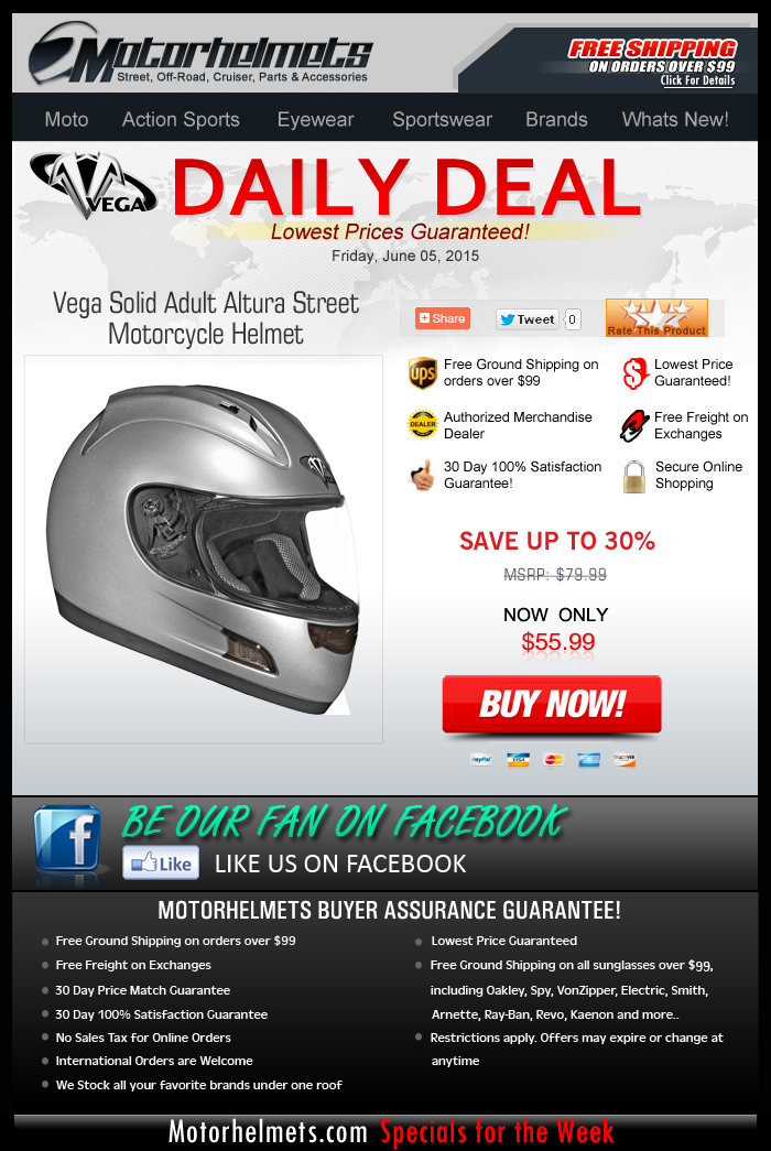 Street Helmets under $60? Check out the Vega Altura!