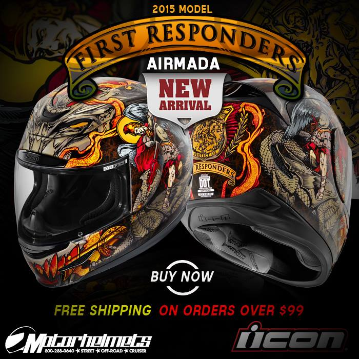 Motorhelmets Product Ad (July 2015) : Icon First Responder ...