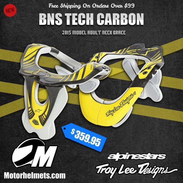 Troy Lee Designs Alpinestars BNS Tech Carbon Adult Neck Brace