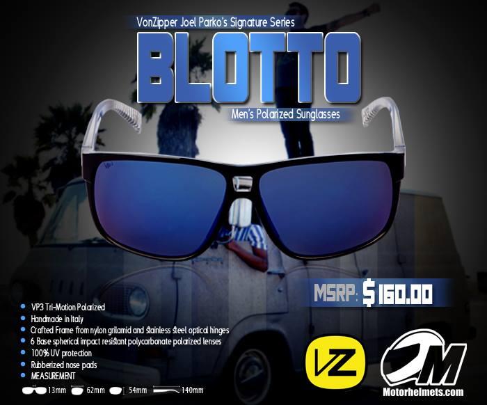 VonZipper Blotto Polarized Men's Sunglasses