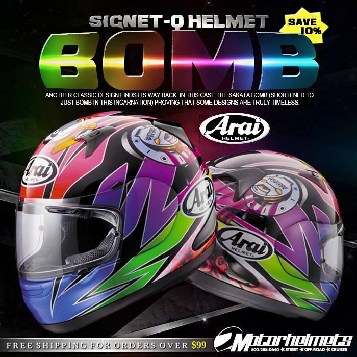 Arai Bomb Signet-Q Helmet